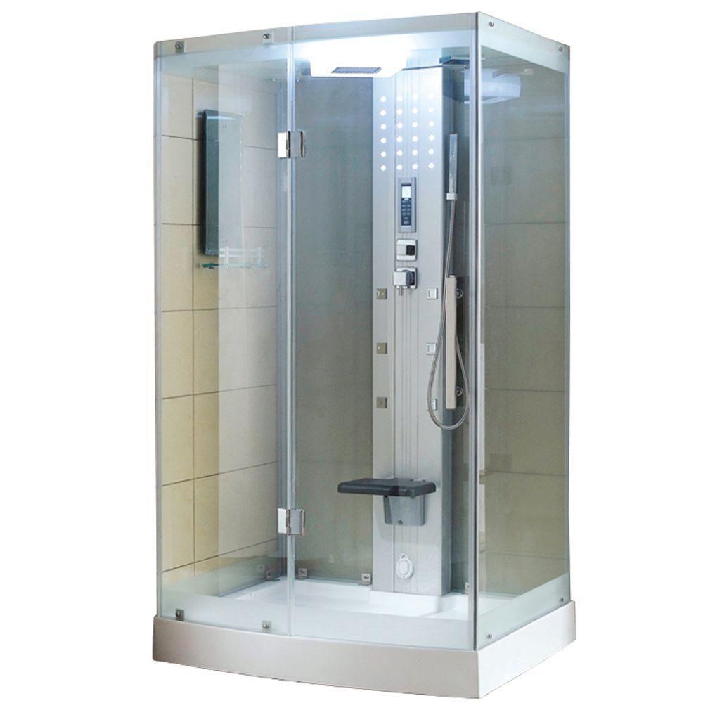 Ariel Ws 300 48 In X 36 In X 85 In Steam Shower Enclosure Kit