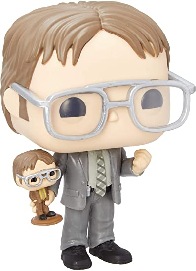 Amazon Com Funko Pop Tv The Office Dwight Holding Dwight Figure Fall Convention Exclusive Toys Games Funko Pop Funko Funko Pop Tv