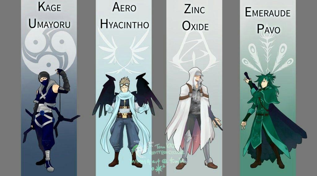 Team KAZE | RWBY OCs | Character design, Character art, Rwby