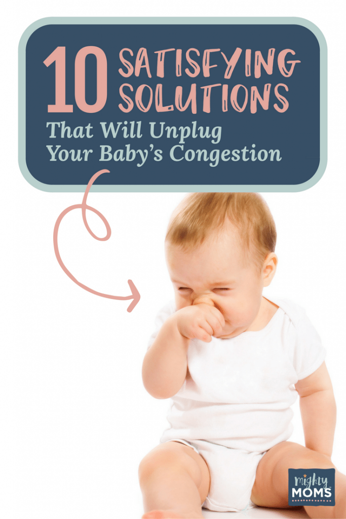 How To Unplug Your Congested Baby And Get Sleeping Again Mightymoms Club Congested Baby Sick Baby Remedies Baby Remedies