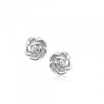 Le Rose Shaped Earrings Anium