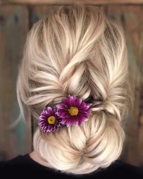 Pin By Emma Haaland On Hair Video In 2020 Hair Upstyles Long Hair Styles Hair Hacks