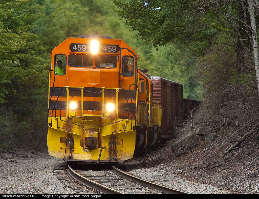 SIRI-10   Description:    Photo Date:  8/10/2012  Location:  Harveys Run, PA   Author:  Austin MacDougall  Categories:    Locomotives:  BPRR 459(SD45-2)