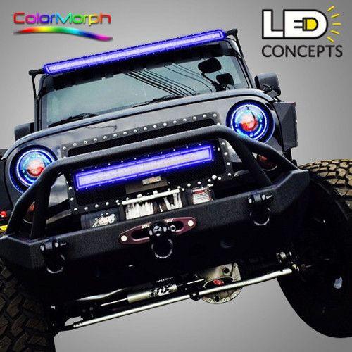 Colormorph 12 14 light bar halo jeeps pinterest jeeps colormorph 12 14 light bar halo mozeypictures Image collections