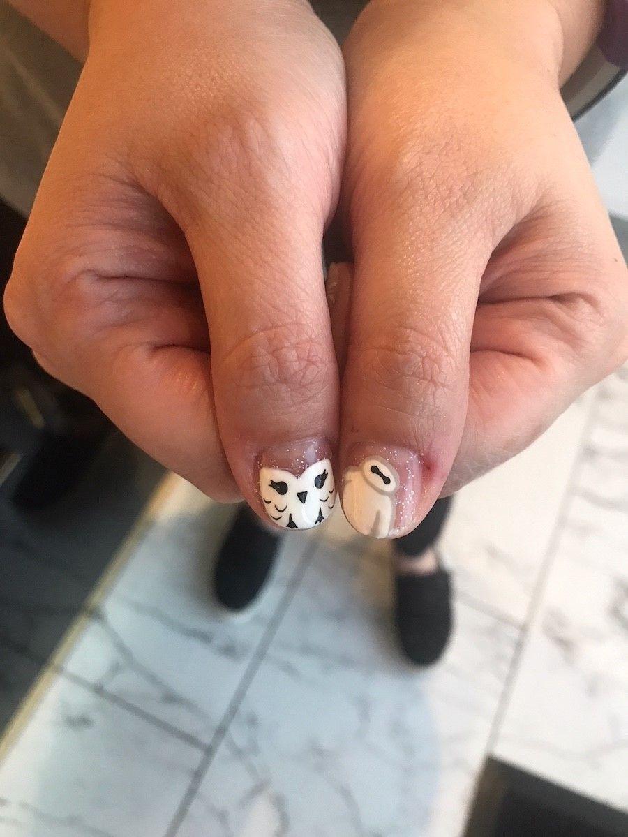 Adorable Baymax nail art! Nail Tech: Briana Location: Los Olivos ...