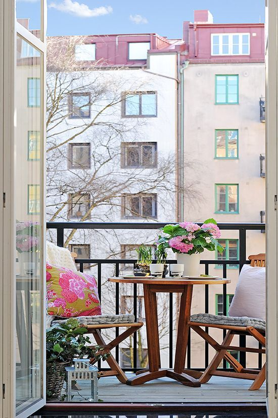 24 Awesome Spring Balcony Décor Ideas Ideas para el hogar