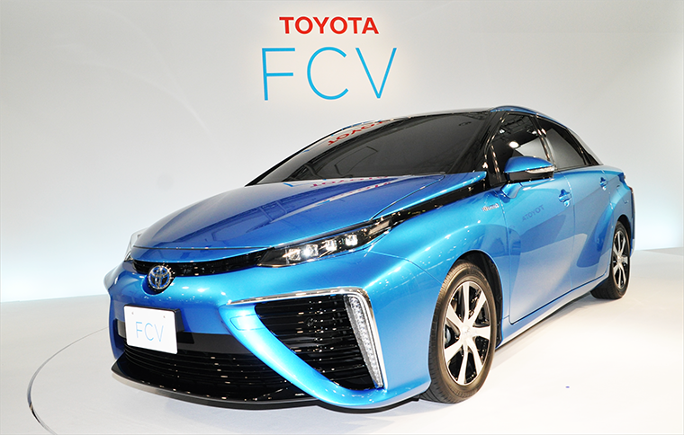 Toyota FCV final exterior design revealed coming Summer