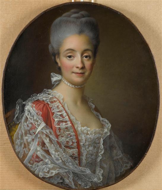 Portrait of Mme.Jacques-Benoit Loys, nee Marie Combe.