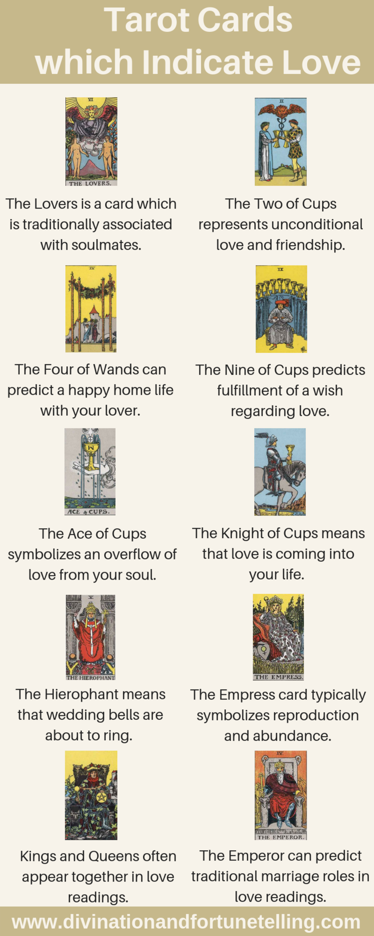 Tarot Cards which Indicate a Potential for Love — Lisa Boswell