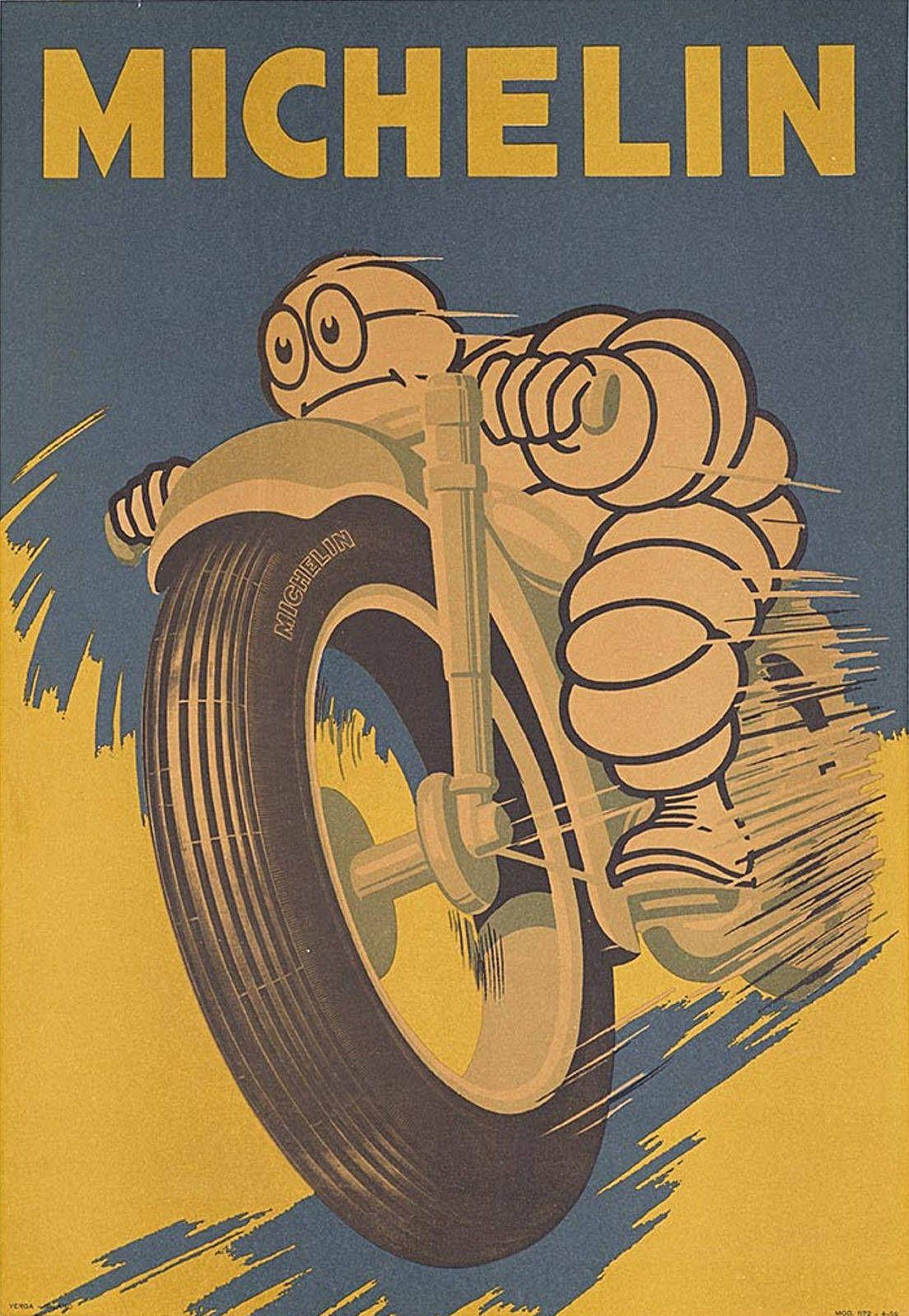 Michelin Service Tire Logo Gas Garage Shop Retro Auto Wall Decor Metal Tin Sign