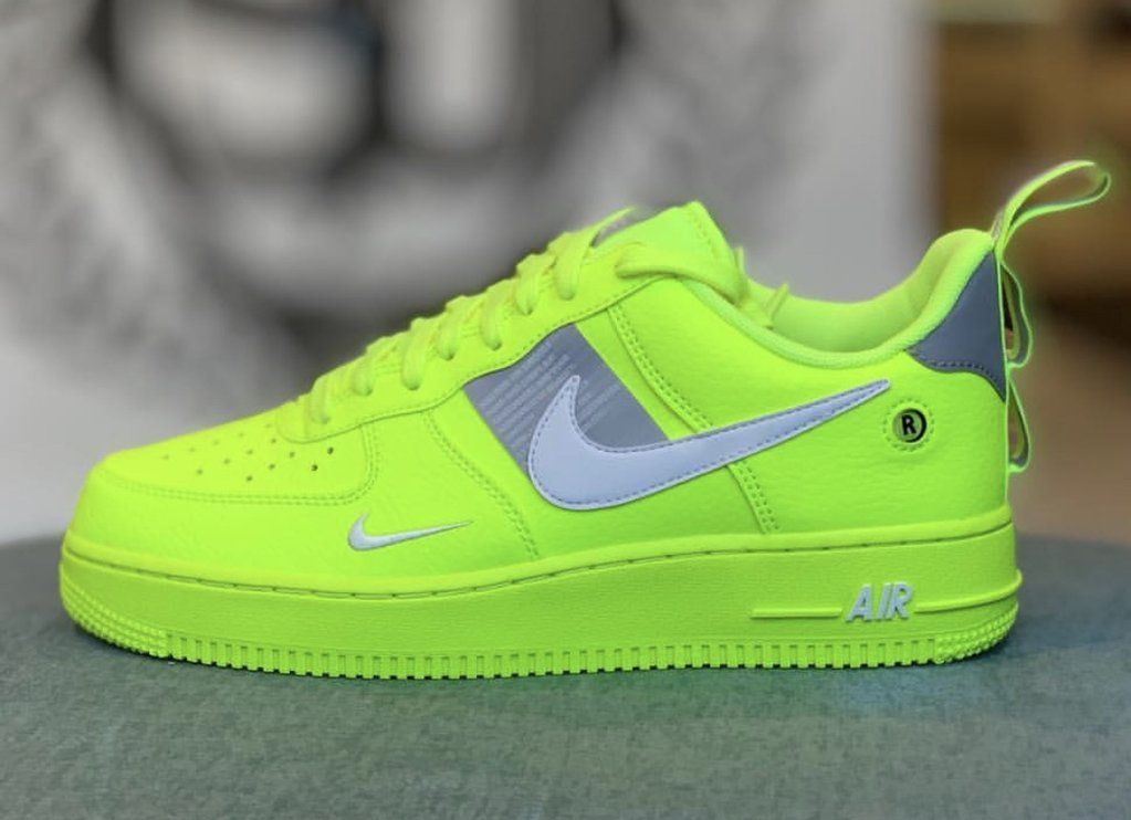 air force 1 fosforescenti