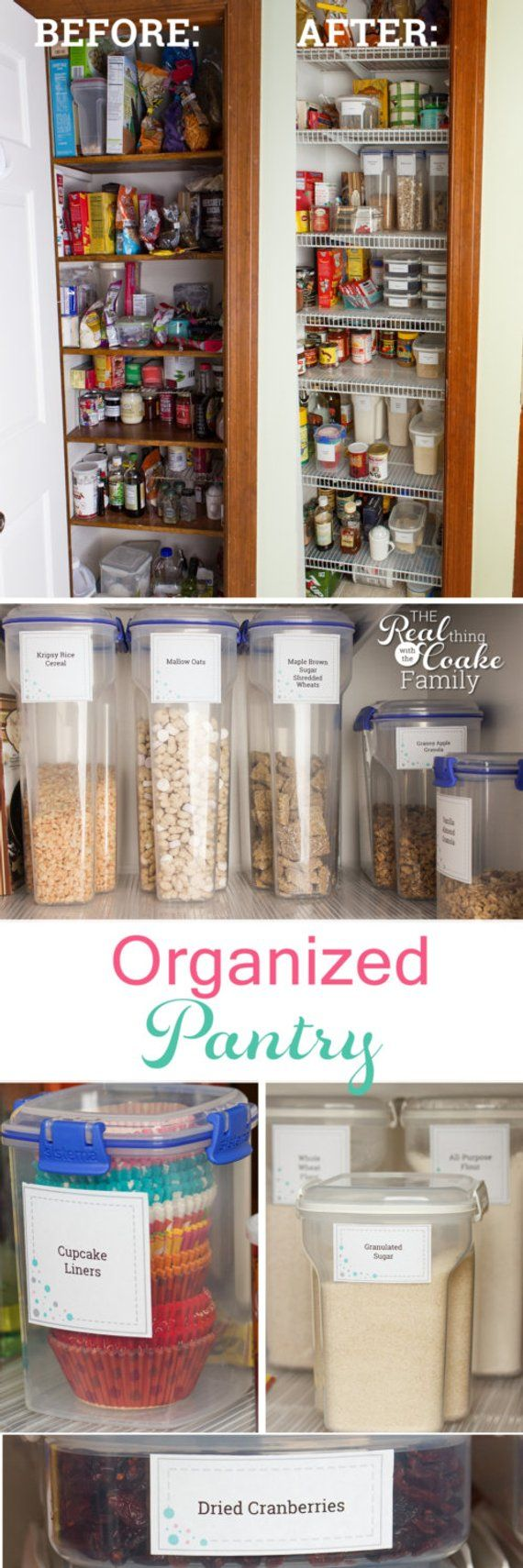 Pantry labels craft paper pantry labels kitchen pantry labels
