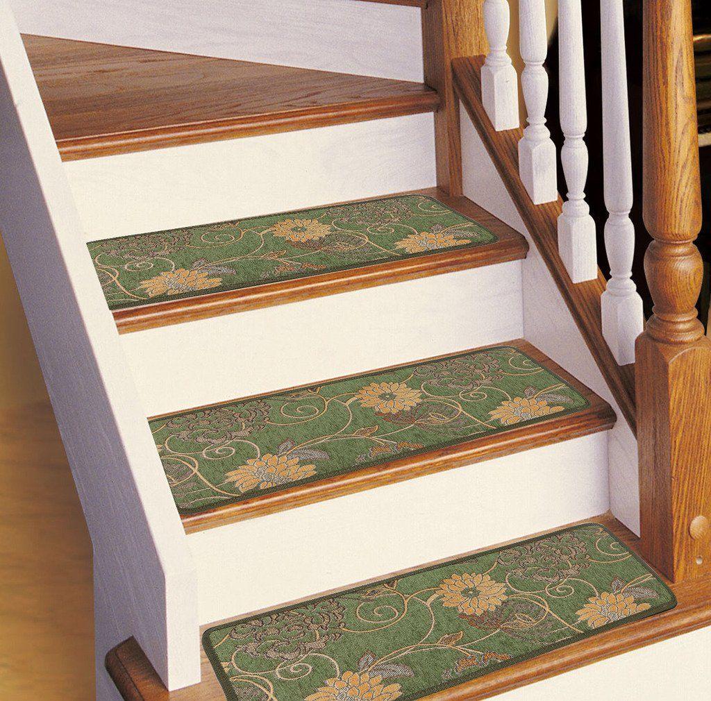 Best Soloom Carpet Stair Treads Non Slip Set Of 13 Indoor Skid 640 x 480