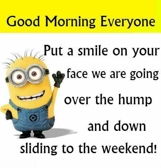 Pin By Tiffany Luca On Minions Morning Quotes Funny Good Morning Minions Funny Good Morning Quotes