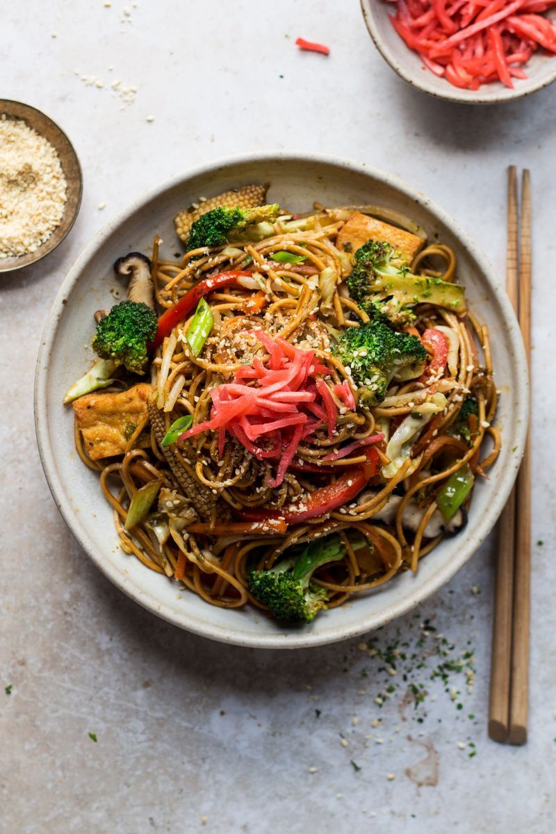 Vegan yakisoba - Lazy Cat Kitchen     The Far Eastern people, who also reflect the difference in their lifestyle, do not consume dairy products, and dessert is not found in their kitchen. Let's get to know the Asian cuisine based on balance.  Asian culinary culture performs food not only to feed the wife but also as a philosophy and ritual. The harmony or contrasts, cooking styles and presentation in meals actually say a lot about Asian cuisine . In t... #Cat #Kitchen #Lazy #Vegan #Yakisoba