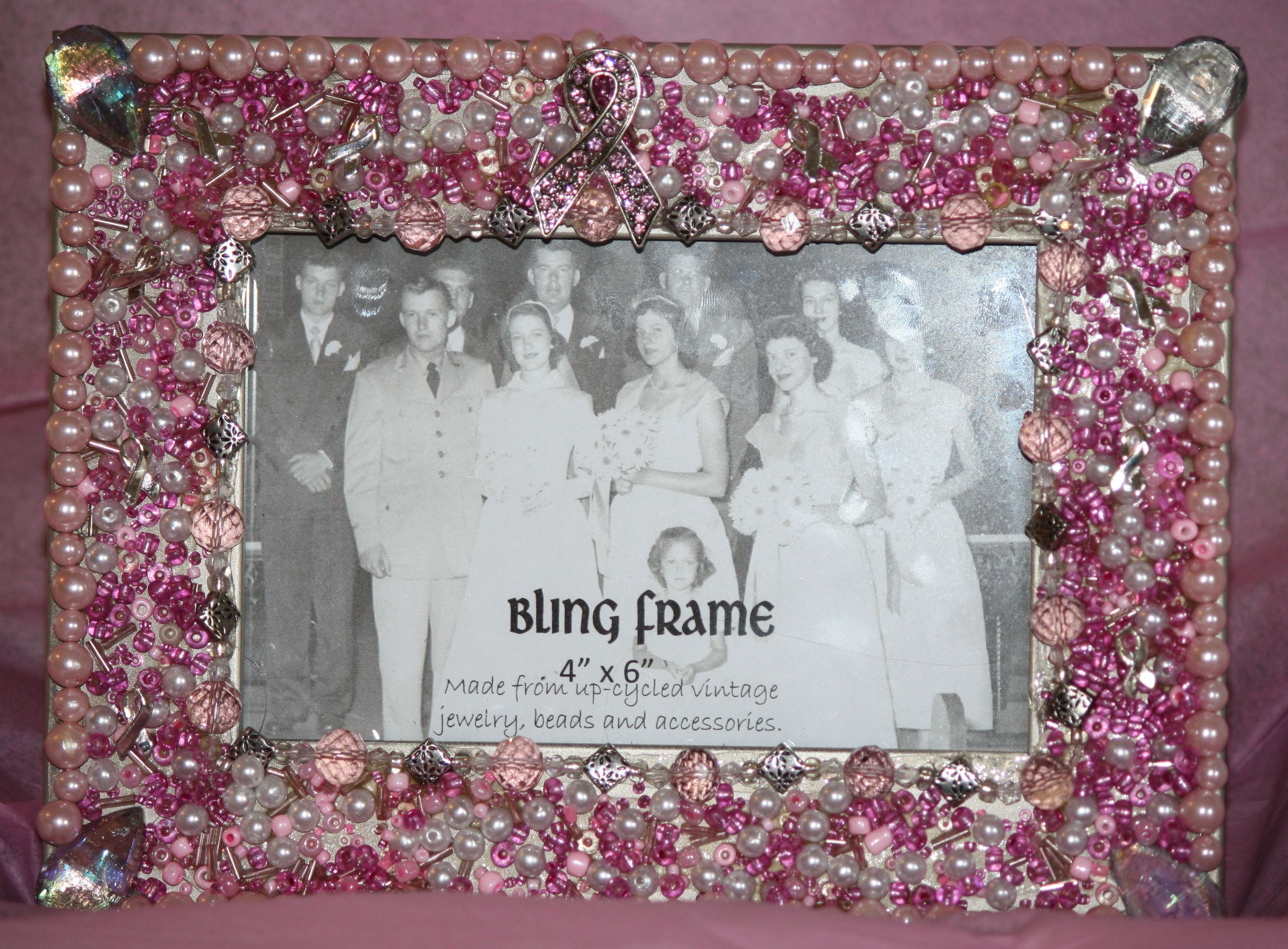 Breast Cancer Awareness Picture Frame How Cute Diy Breast