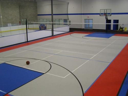 Indoor Multi Purpose Court By Flex Court Home Basketball Court Basketball Court Flooring Indoor Sports Court