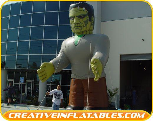 Giant Inflatable Frankenstein Halloween Inflatables Pinterest - halloween inflatable decorations