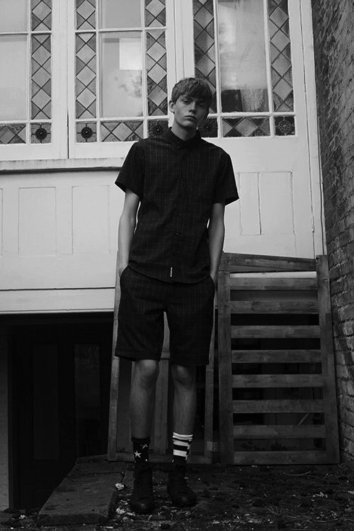 Boys To Watch: London SS16Ollie Pallister at Supa Model Management photographed by Sophie Mayanne.Ollie wears Shirt and Shorts by Publish, Socks by Stance and Shoes by Converse. Read the full feature here: http://www.boysbygirls.co.uk/index.php/news/boys-to-watch-london-ss16