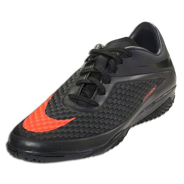 Nike Hypervenom Phelon IC - Dark Charcoal/Total Crimson/Black Indoor Soccer  Shoes