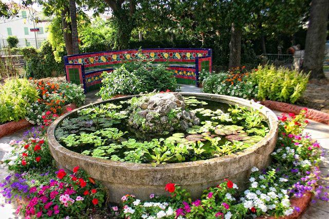 El Blog de La Tabla: El jardín de La Fontana Rosa en Menton