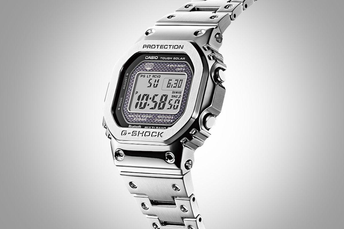 08c849cdb72 Casio G-Shock GMW-B 5000 D-1 Brings  Full Metal  To The 5000-Series Casio  Watch Releases
