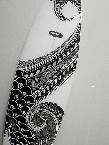 """Maori"" / Dotti Surfboards"