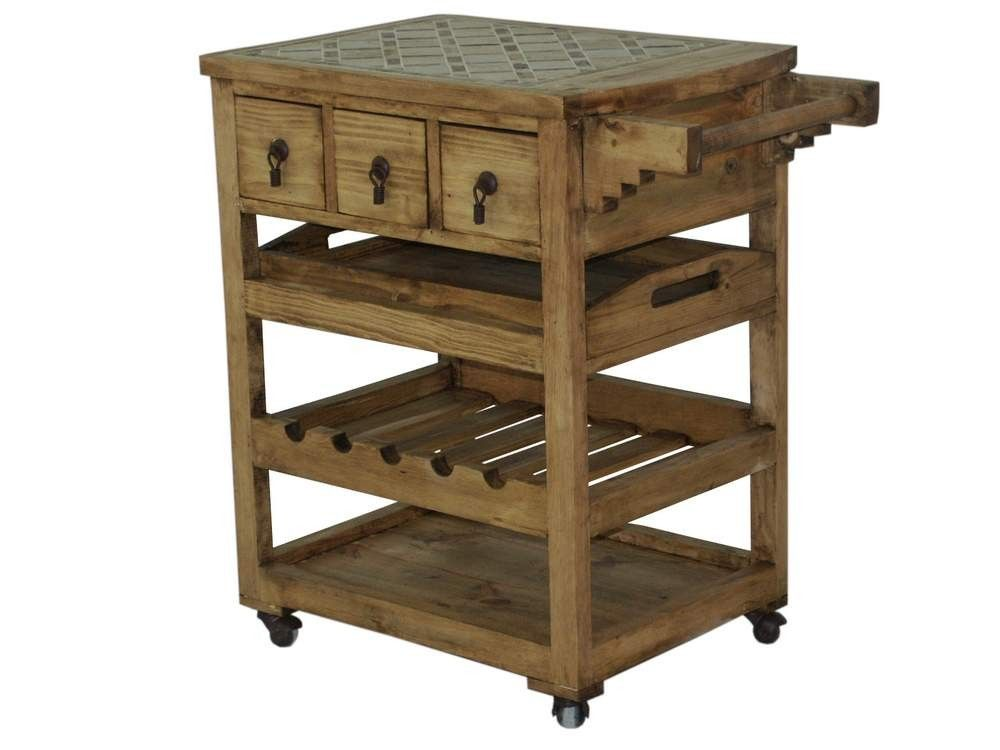 Google Image Result For Httpwwwtresamigosworldimports Fair Rustic Kitchen Cart 2018