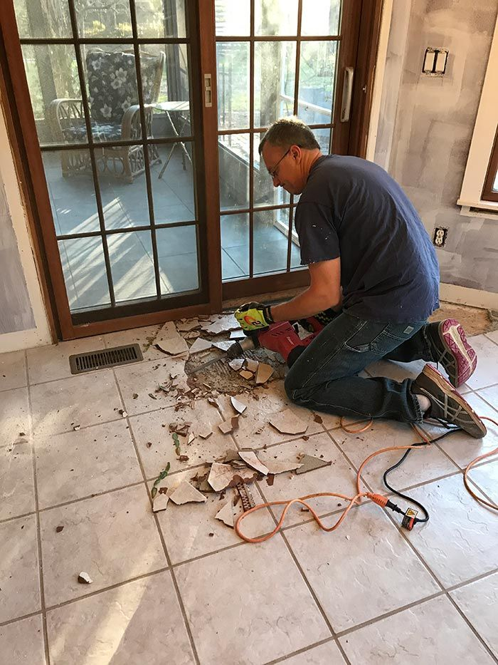 How Remove Tile Floors Removal Floor