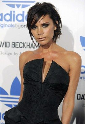 Victoria Beckhams Grownout Bob Victoria Beckhams Hairstyle - Beckham's hairstyle history