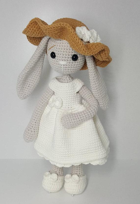 crochet pattern amigurumi mom and baby bunny | Зайчики | Pinterest ...