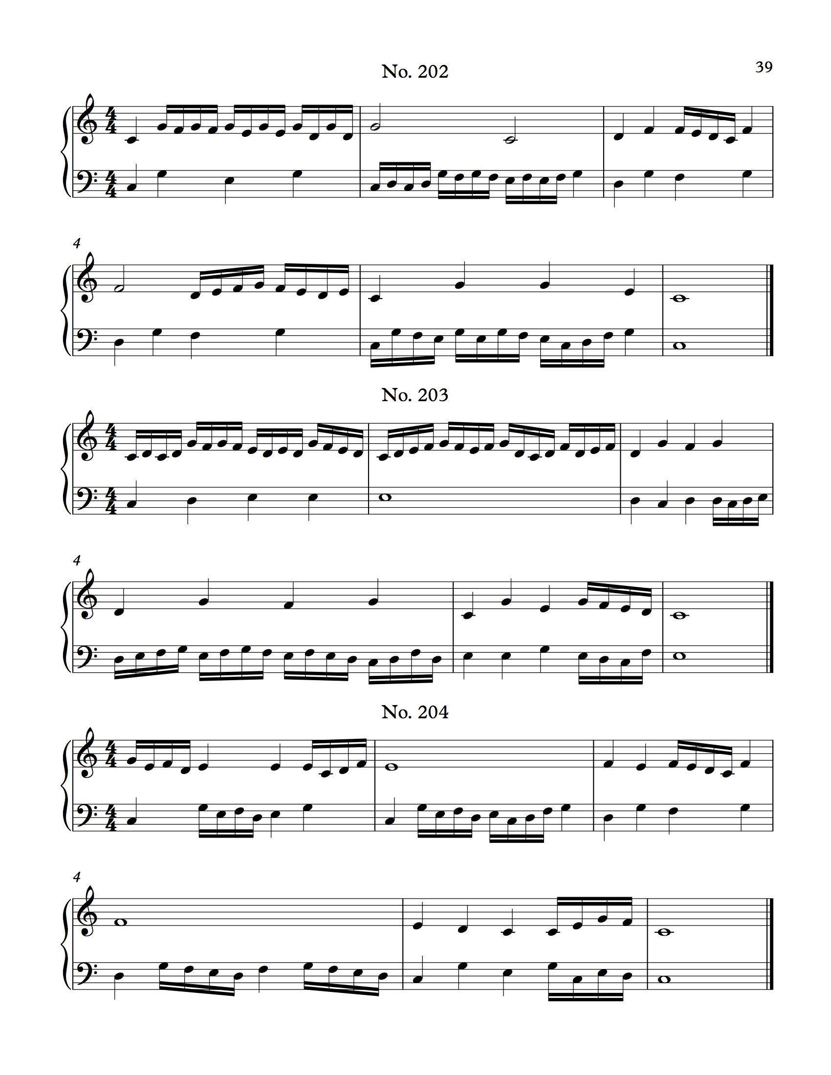354 Sight Reading Exercises In C Major Image 2 | Piano