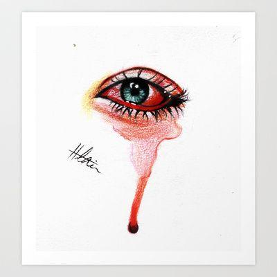 49+ Tears art ideas