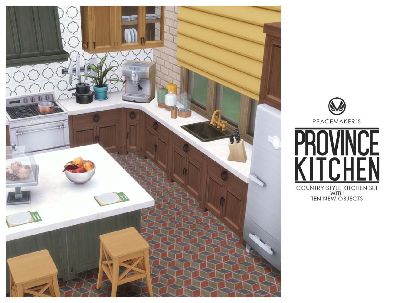 Source: Tumblr | Kitchen Set | Sims 4 | TS4 | Maxis Match ...