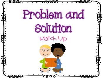 Problem and Solution by Ashley Benoit | Teachers Pay Teachers