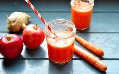 Suco Detox de Cenoura Para Ter uma Pele Saudável