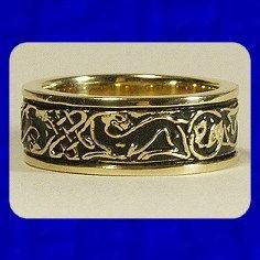 irish wolfhound rings hand made and antiqued celtic pinterest hands irish and irish wolfhounds - Norse Wedding Rings