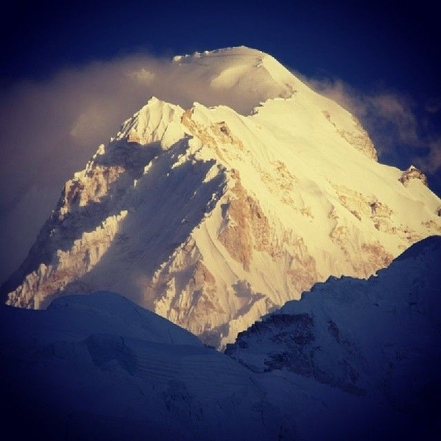 Nuptse looking mean and moody from Everest Basecamp #Padgram