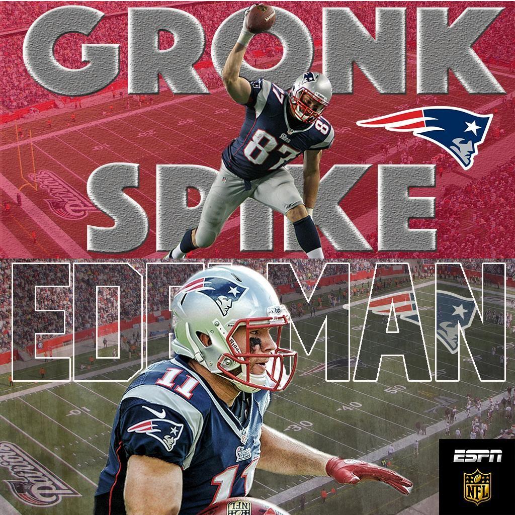 Nfl On Espn On Twitter Patriots Team Nfl Gronk
