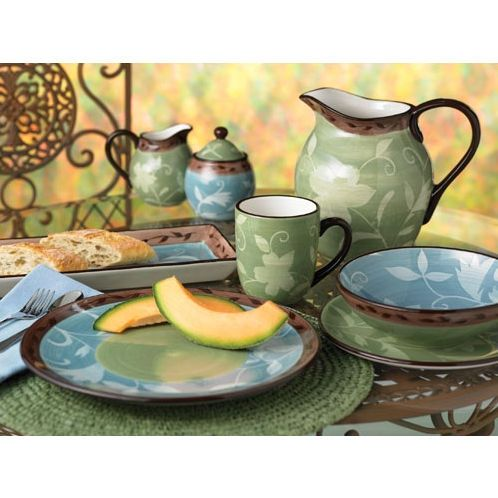 Pfaltzgraff Patio Garden Dinnerware Collection