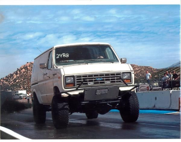 1990 Ford Econoline 1 Ton Diesel 4x4 Picture Mods Upgrades