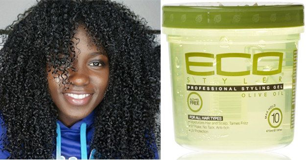 Eco Professional Styling Gel Olive Oil Natural Hair Gel Curly Hair Styles Curly Hair Styles Naturally