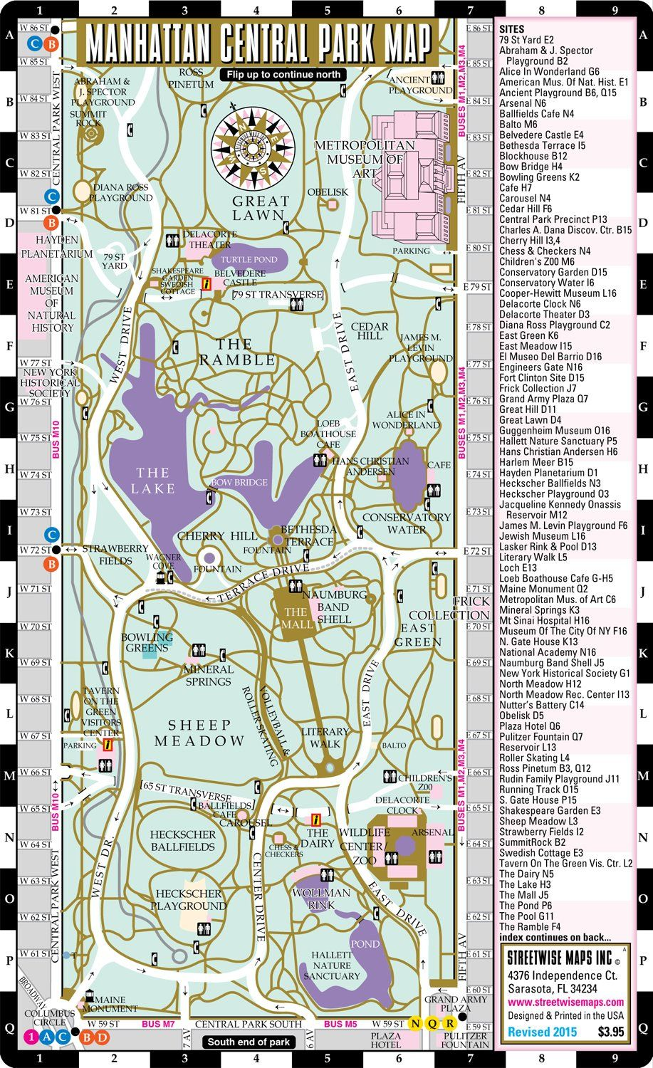 Nyc Subway Map Central Park.Central Park Map Central Park Maps In 2019 Central Park Map