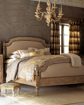 Tuscany Panel Bedroom Furniture Horchow Design Aspirations