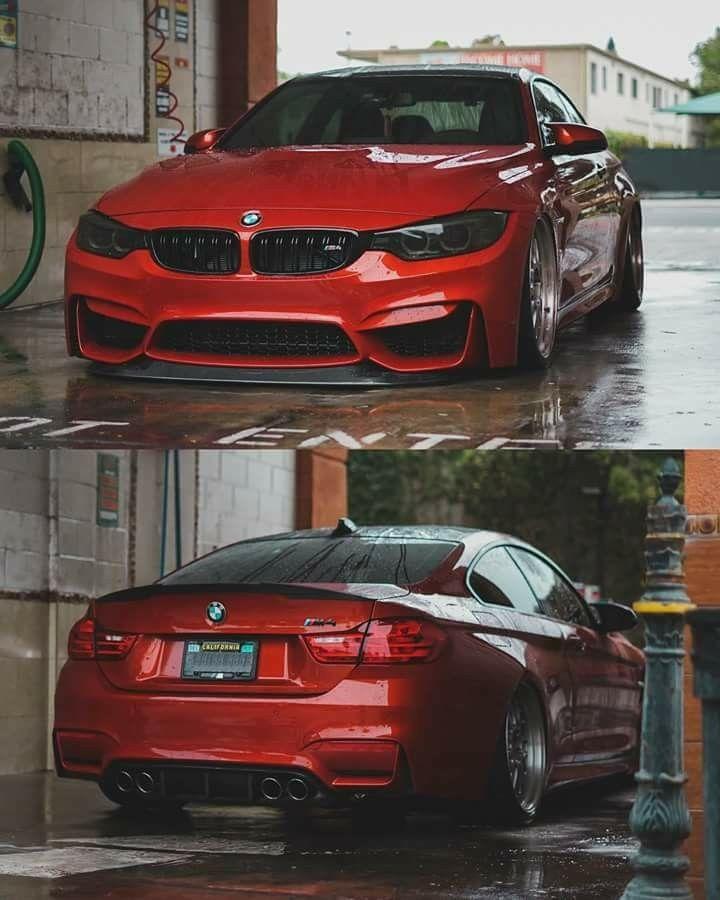 Bmw F82 M4 Red Carwash Euro Auto Style Pinterest Autos