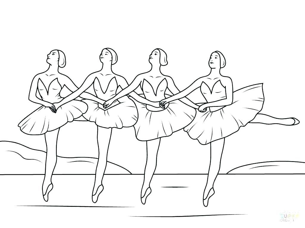 Free Ballet Coloring Book, Download Free Clip Art, Free Clip Art ... | 764x1024