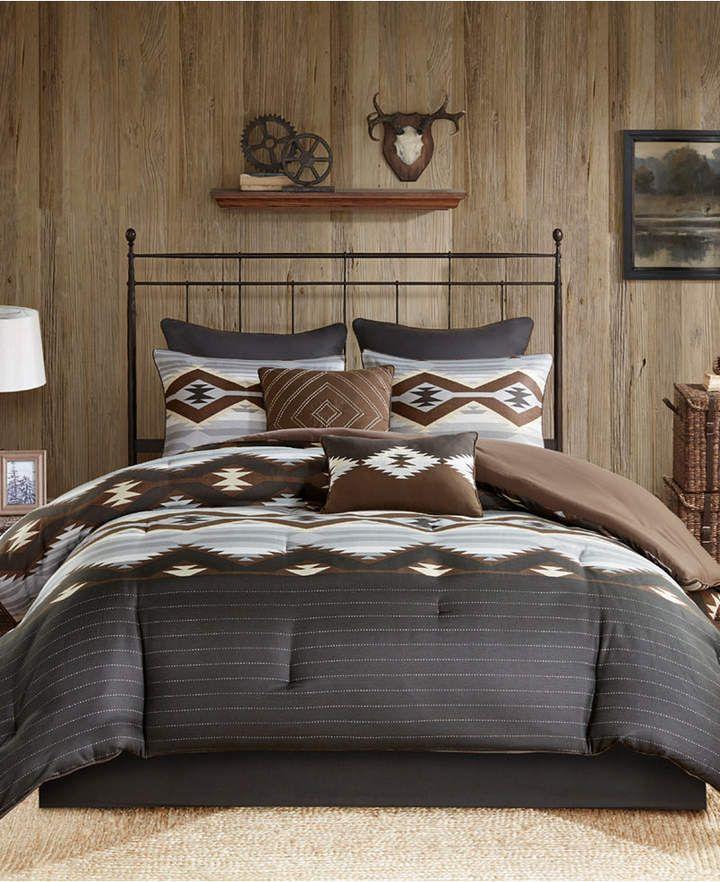 Woolrich Bitter Creek Reversible 6 Pc Twin Comforter Set