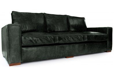 Battersea Boy Extra Large Leather Sofa From Old Boot Sofas