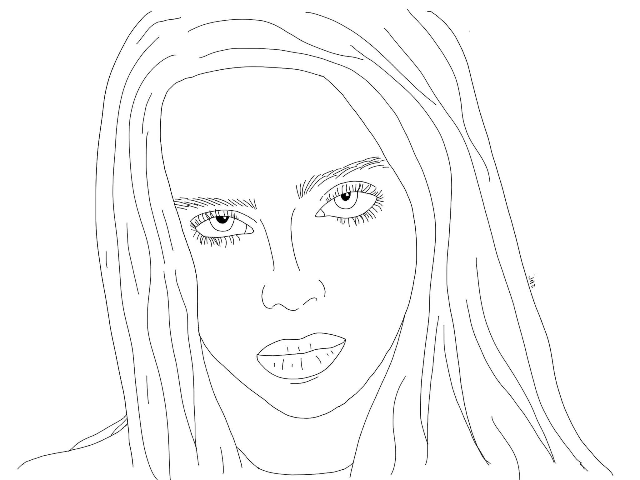 Billie Eilish Line Art Art Billie Eilish