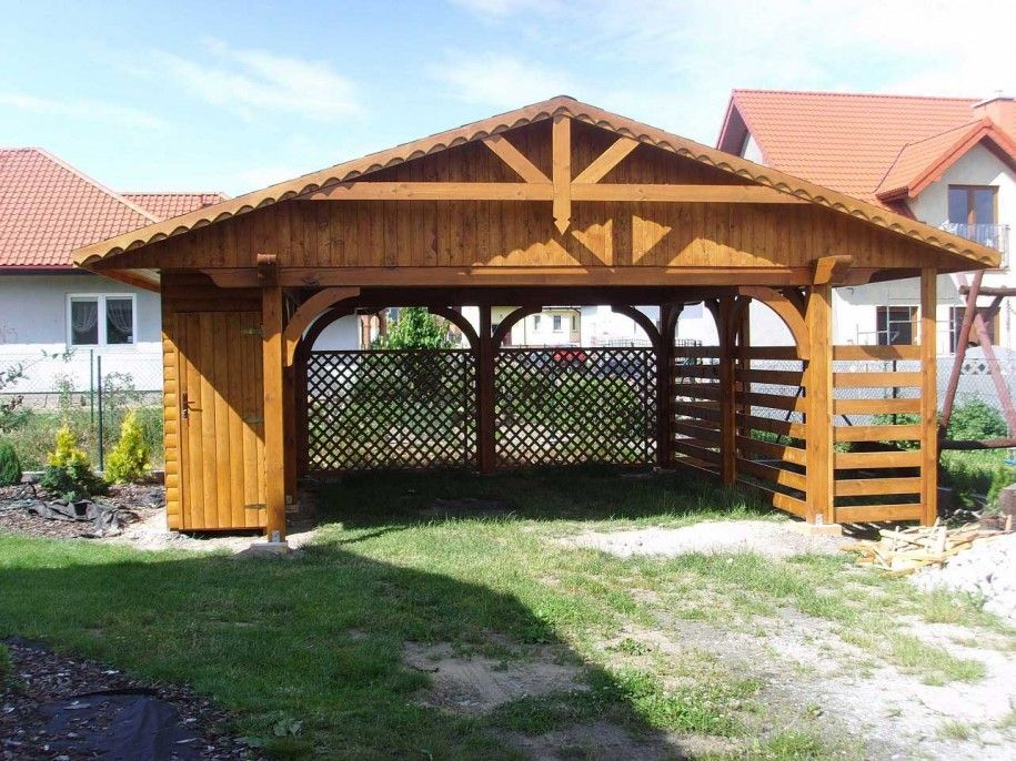 Carport For Your Vehicles Wood Carport Ohua88 Com Carport Wooden Garden Buildings Carport Garage